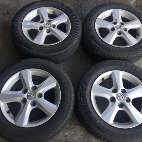 15 Mazda 3 stock mags 5Holes pcd 114 mags only | Mindanao Tyrehaus